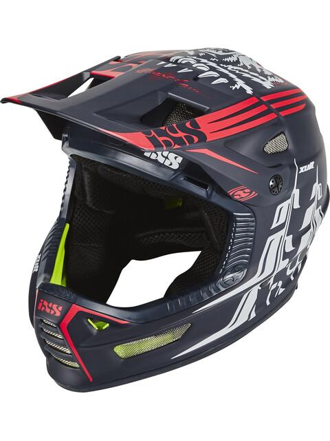 IXS Xult Fullface Helmet black/red